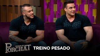 Leo Stronda e Rafa Brandão falam sobre rotina de treinos