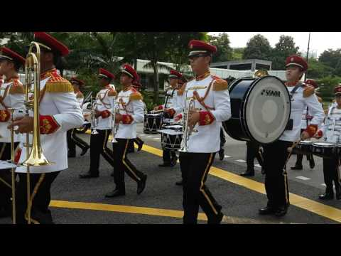 SAF BAND A June 2016 Marching out