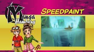 Manga Hamburg - Speedpaint - Underwater City