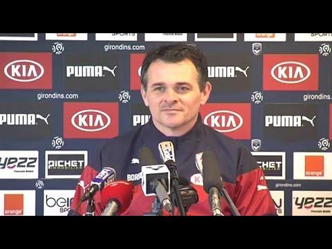 Point Presse - Willy Sagnol - Evian vs Bordeaux
