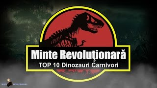 TOP 10 Dinozauri Carnivori