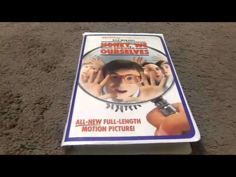 Honey We Shrunk Ourselves Vhs Review