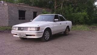 Обзор 1985 Toyota Mark 2/Тойота Марк 2 GX70 1G-GE