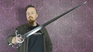 My first impression of the Town Guard (sidesword) by Arms & Armor