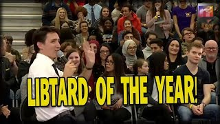 Watch Canadian PM Trudeau Go FULL LIBTARD with Most RIDICULOUS PC Word EVER Spoken