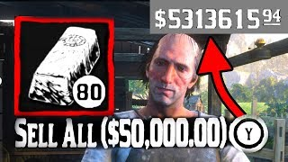 Red Dead Redemption 2 MONEY GLITCH IN UNDER 2 MINUTES! $250,000+ EASY! (WORKING XBOX ONE & PS4)