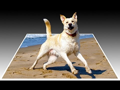 Photoshop: How to Make a 3D. Pop-Out Photo Effect