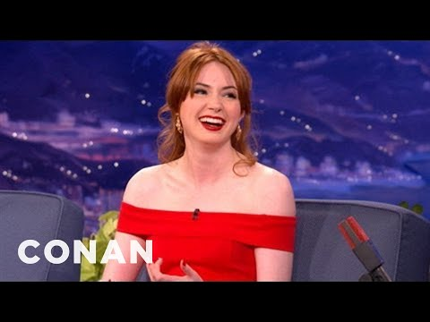 Karen Gillan Interview 9/27/2012 - CONAN on TBS