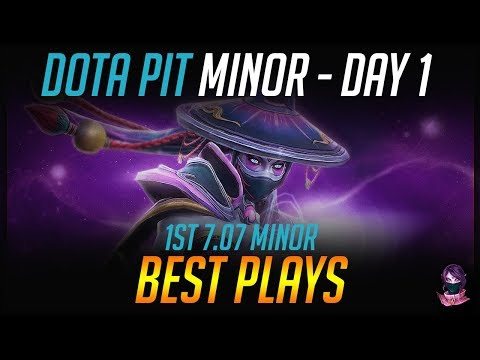 AMD SAPPHIRE Dota PIT Minor - BEST PLAYS - Day 1 Highlights Dota 2 by Time 2 Dota #dota2
