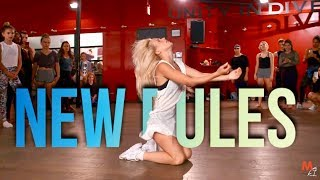 Download Lagu DUA LIPA - NEW RULES | Choreography by @NikaKljun Gratis STAFABAND