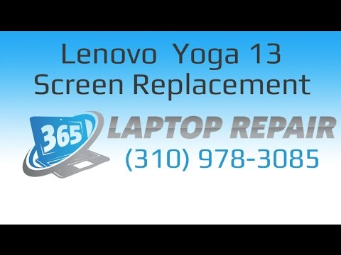"Lenovo Ideapad Yoga 13"" LCD + Digitizer Assembly Replacement How To - By 365"