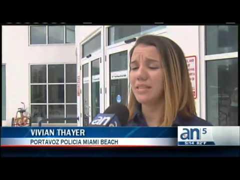 Turista es atacada en la playa América TeVé