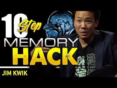 10 STEPS TO IMPROVE YOUR MEMORY - Jim Kwik | London Real