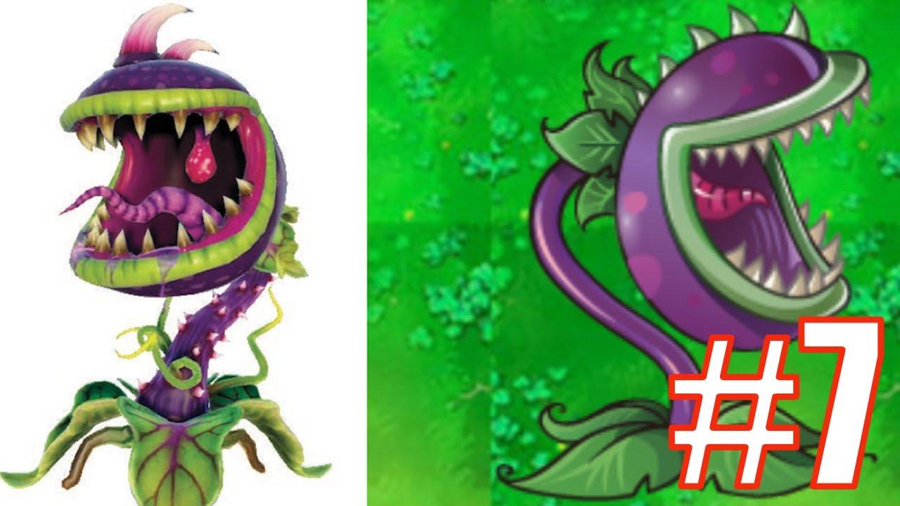 Plants vs zombies garden warfare plants characters