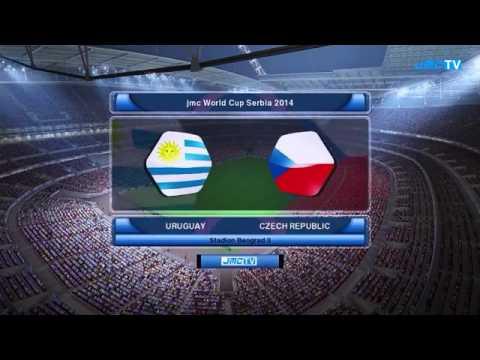 Mundial De Futbol Serbia 2014 Grupo G República Checa vs Uruguay
