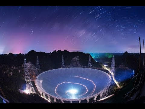 FAST  World's biggest radio telescope near completion in China