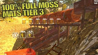 100% FULL MOSS MATS TIER 3   Gold Rush: The Game   Let's Play Gameplay   S01E15