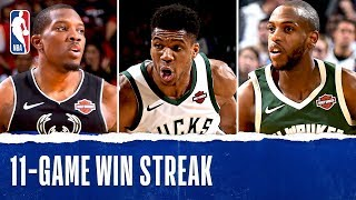 Best Of 11-Game Win Streak For Milwaukee Bucks