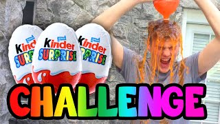 Surprise Egg Challenge! (Kinder Surprise Challenge)