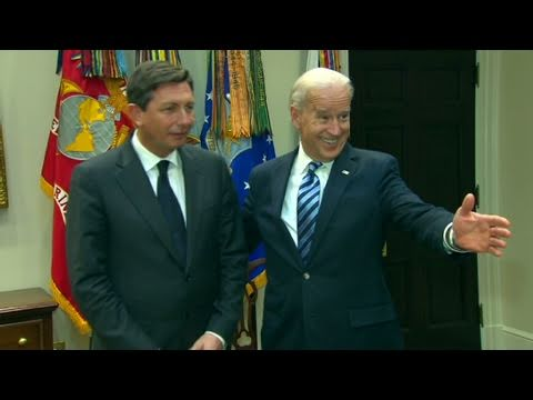 CNN: Joe Biden meets with Slovenia's PM