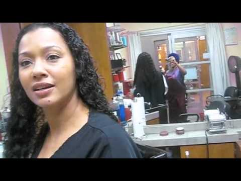 Curly Sew-in Weave @ HAIR ESCAPADES