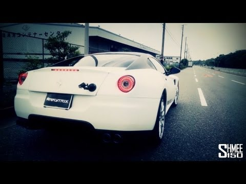 ARMYTRIX Ferrari 599 GTB Exhaust System - Huge Sounds And Tunnel Accelerations