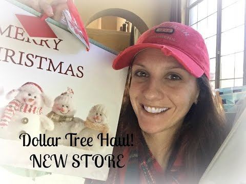 DOLLAR TREE HAUL!! | NEW STORE  DECEMBER 2015
