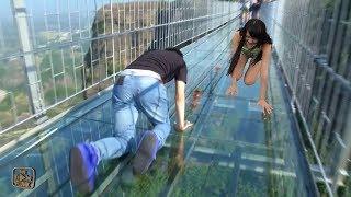 Berani Nyebrang Jembatan Ini ??? 10 JEMBATAN PALING BERBAHAYA DAN TEREXTREAM YANG ADA DI DUNIA
