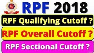 RPF Constable and SI Cutoff 2018 | Merit List | Male and Female | Safe Score, Railway Rpf cut off