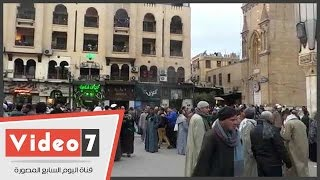 إلغاء حفل الشيخ ياسين التهامى بمولد الحسين لدواعٍ أمنية