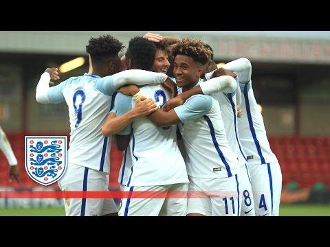 England U18 2-1 Italy U18 (Sep 2016) | Goals & Highlights