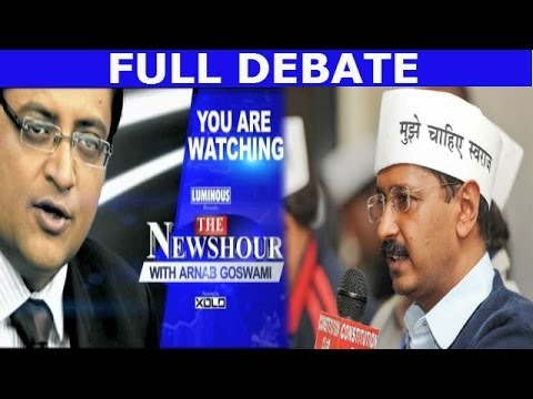The Newshour Debate: Aam Aadmi Party hits aam aadmi - Full Debate (12th March 2014)