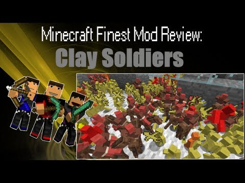 Minecraft: Mod Review - Clay Soldiers Mod