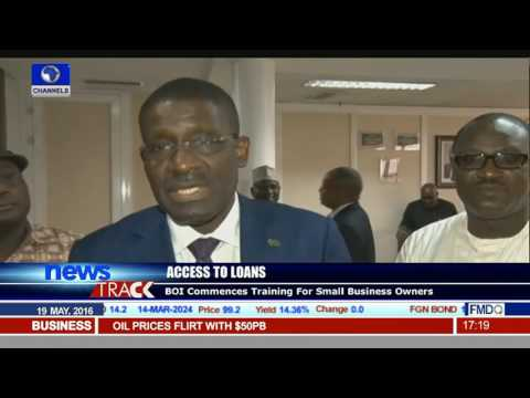 BOI Commences Training For Small Business Owners
