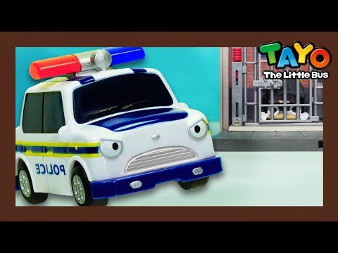 Tayo Pat the Police Car l What does police car do? l Tayo Job Adventure l Tayo the Little Bus