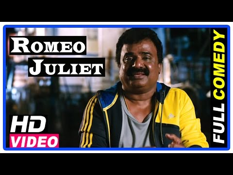 Romeo Juliet Tamil Movie   Full Comedy Scenes   Jayam Ravi   Hansika   VTV Ganesh