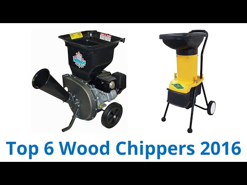 6 Best Wood Chippers 2016