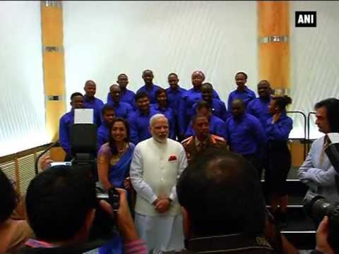 PM Modi interacts with South African alumni of Indian institutions - ANI News