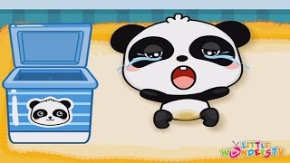 ♥ Baby Care ♥ Baby Panda Care Game for Children ♥ Kids Learn How to Care for Babies Feed, Bath, Play