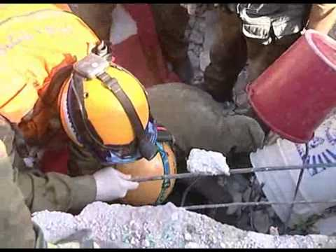 Haitian Man, Buried Under Rubble for 10 Days, Rescued By IDF Team Video