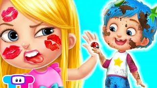 Fun Baby Care Kids Games - Babysitter Craziness - Play Fun Bath Time, DressUp & Makeover Kids Games