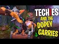 Techies And The Dopey Carries DotA 2 Funny Moments mp3