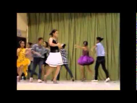 Cristy And Doreen's Group Performs Boogie,chacha,swing And Tango video