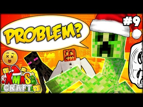 SOMETHING HILLARIOUS HAPPENED!! HUGE CREEPER PRANK?? | MINECRAFT CHRISTMAS #9 (Minecraft Modded SMP)