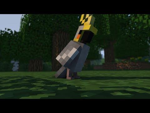 Minecraft dla dużych i małych - Papugi #1