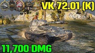 World Of Tanks   VK 72.01 K - 11700 Damage - 9 Kills