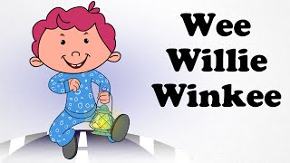 Wee Willie Winke | Cartoon Nursery Rhymes Songs For Children