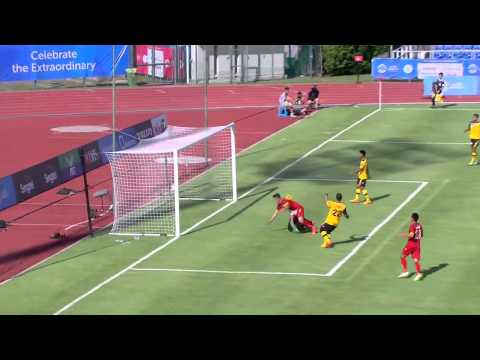 Football Brunei vs Vietnam first half highlights 29 May   28th SEA Games Singapore 2015 720p