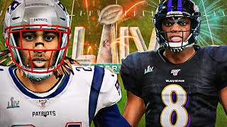 LAMAR JACKSON vs STEPHON GILMORE - FULL TEAM TOURNAMENT SUPERBOWL!!