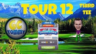 Golf Clash tips, Hole 1 - Par 3, Greenoch Point - Origin Links, Tour 12 - GUIDE/TUTORIAL
